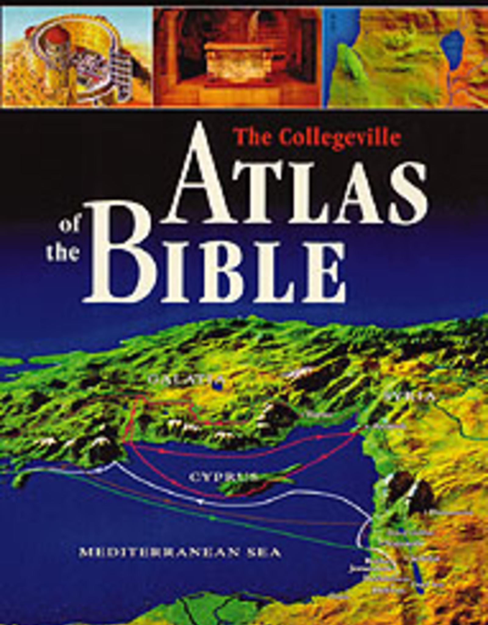 Liturgical Press Collegeville Atlas of the Bible (hardcover)