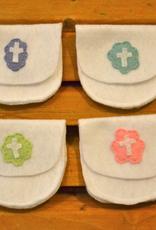 Credo Catholic Credo Catholic Hand Made Felt First Communoin Rosary Case (girls)