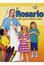 Catholic Book Publishing Libro Para Colorear Sobre el Rosario