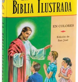 Catholic Book Publishing La Biblia Ilustrada, Padre Lorenzo Lavasik
