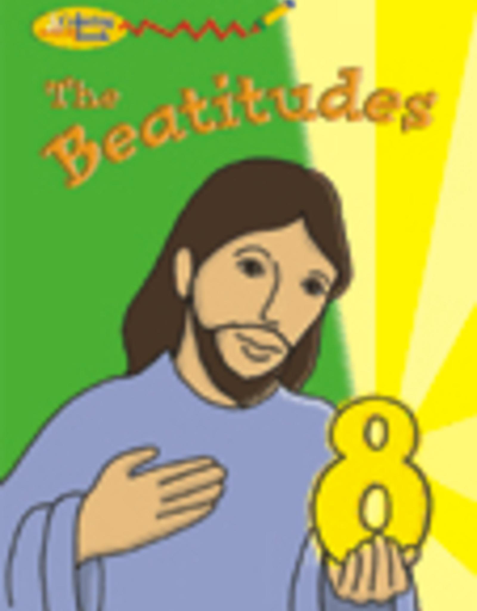 Pauline The Beatitudes Coloring Book