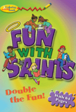 Pauline Fun with Saints Coloring and Activity Book, by Virginia Helen Richards (paperback)