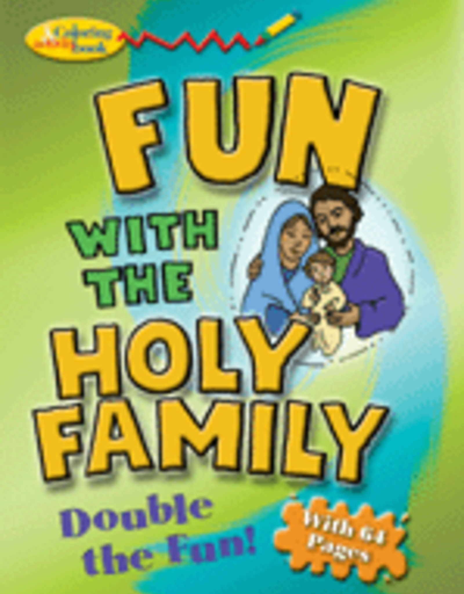 Pauline Fun with the Holy Family Activity Book, by D. Thomas Halpin (paperback)