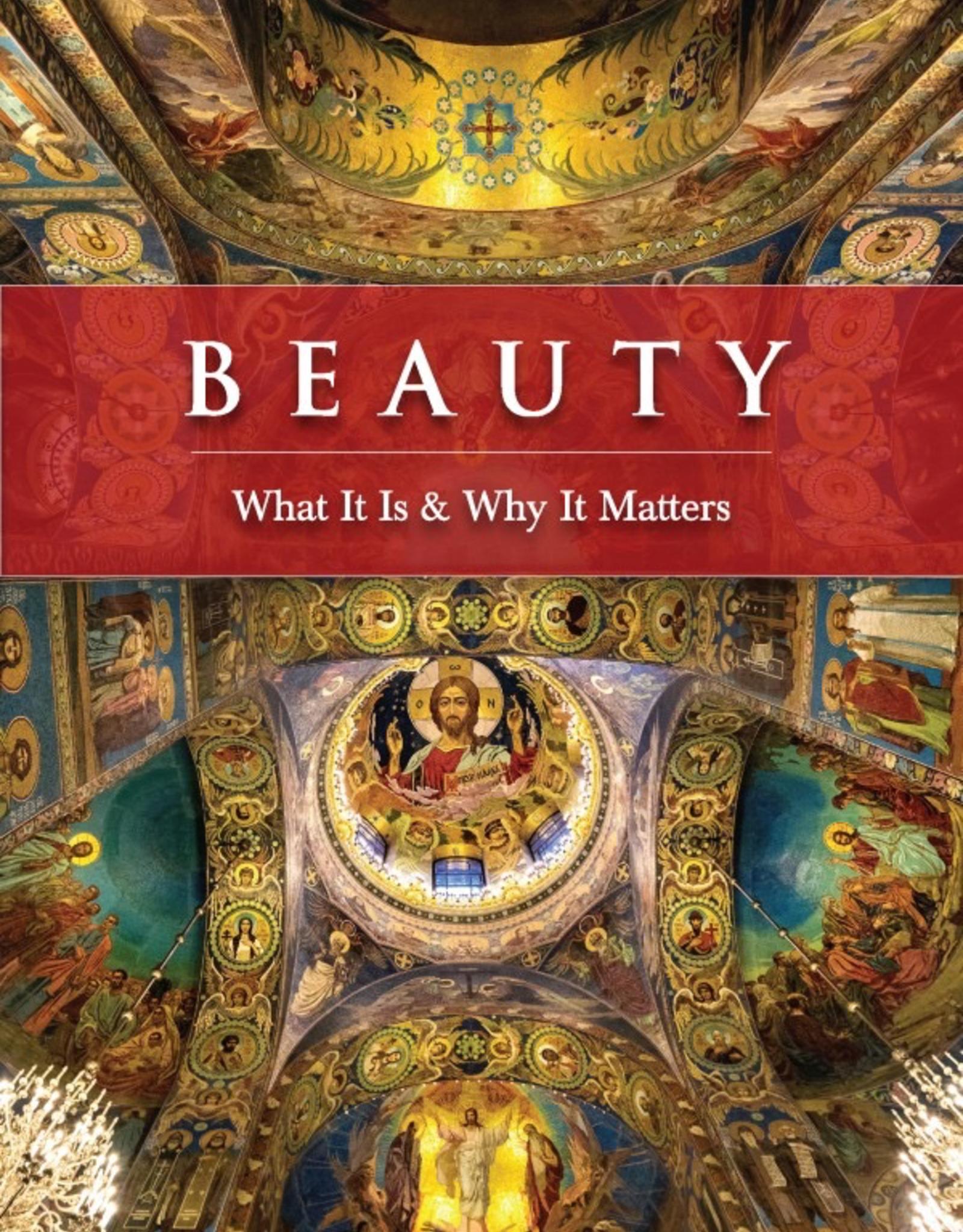 Sophia Institute Beauty:  What It Is & Why It Matter, by John-Mark Miravalle (paperback)