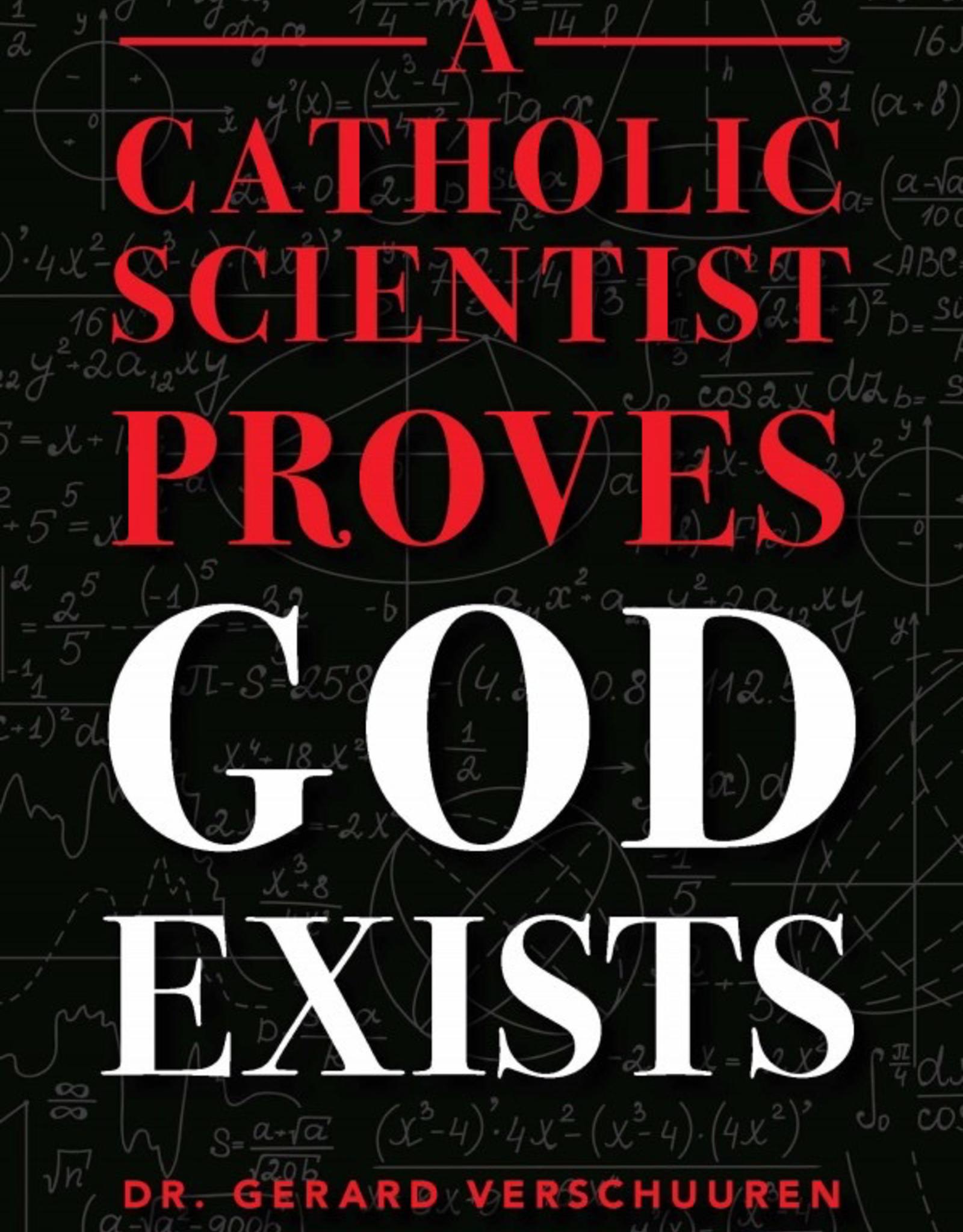 Sophia Institute A Catholic Scientist Proves God Exists, by Gerard Verschuuren (paperback)