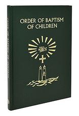Catholic Book Publishing Order of Baptism of Children (2020)(Hardcover)