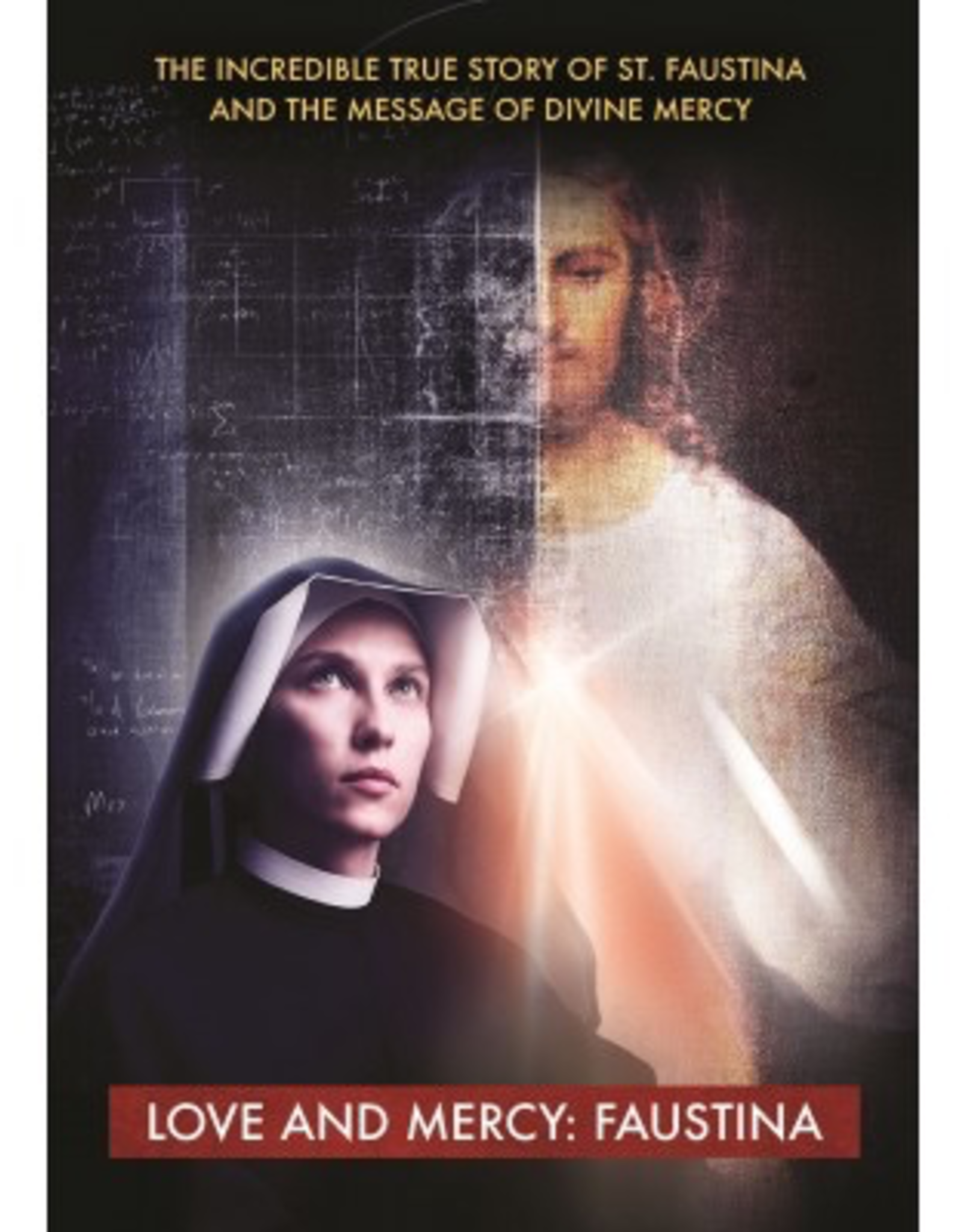 Marian Helpers Love and Mercy:  Faustina (DVD)