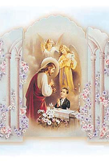 San Francis Imports Single Boy's FIrst Communion Invitation (pack of 10)