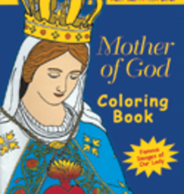 Ignatius Press Mother of God Coloring Book (paperback)
