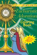 Ignatius Press Eucharistic Adoration Coloring Book