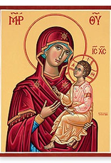 """Monastery Icons 3""""x4"""" Virgin and Child Icon"""