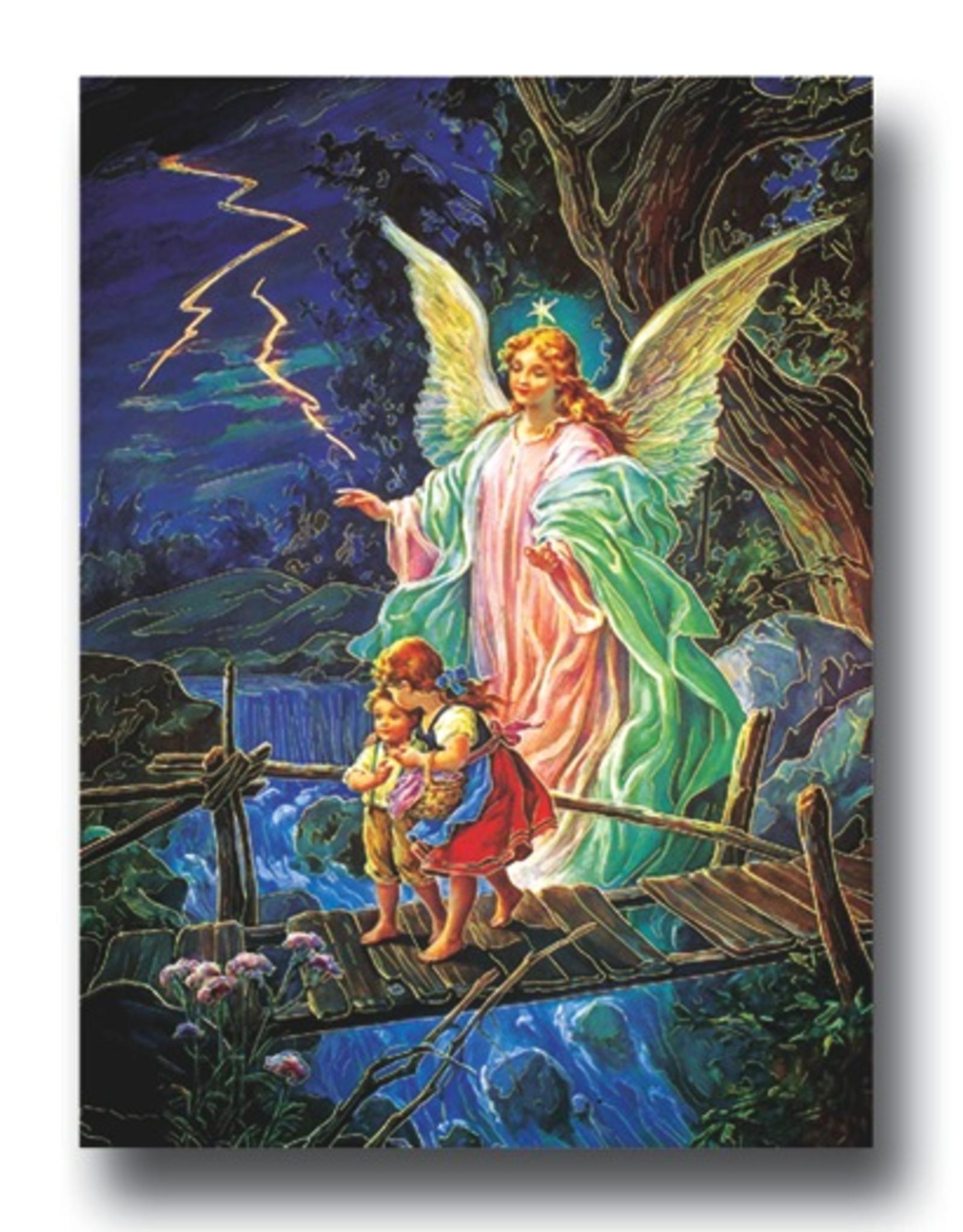 """WJ Hirten Guardian Angel Poster (19x27"""")"""