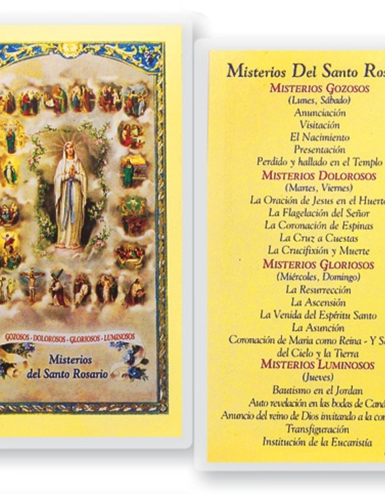 WJ Hirten Misterios del Santo Rosario