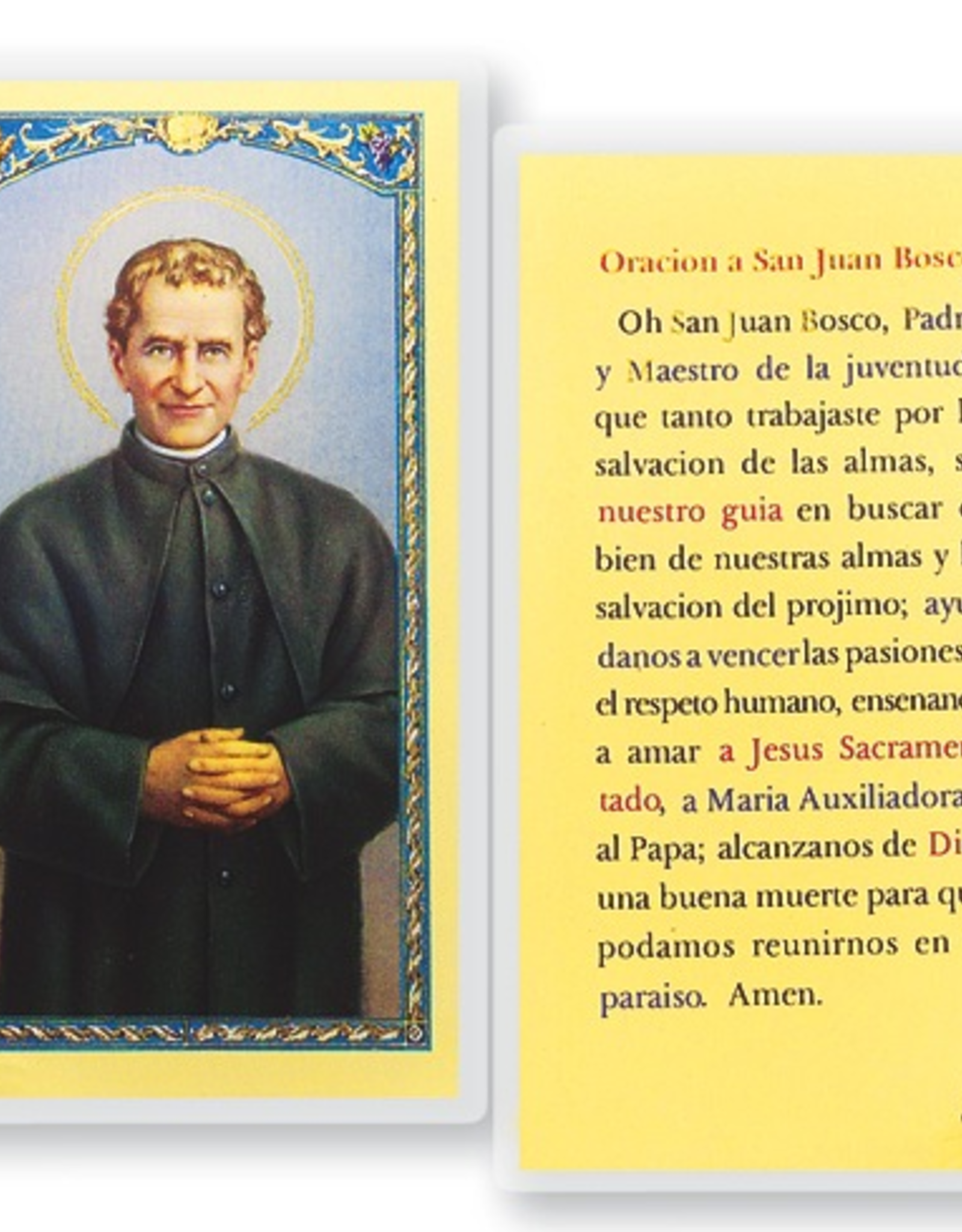 WJ Hirten San Juan Bosco