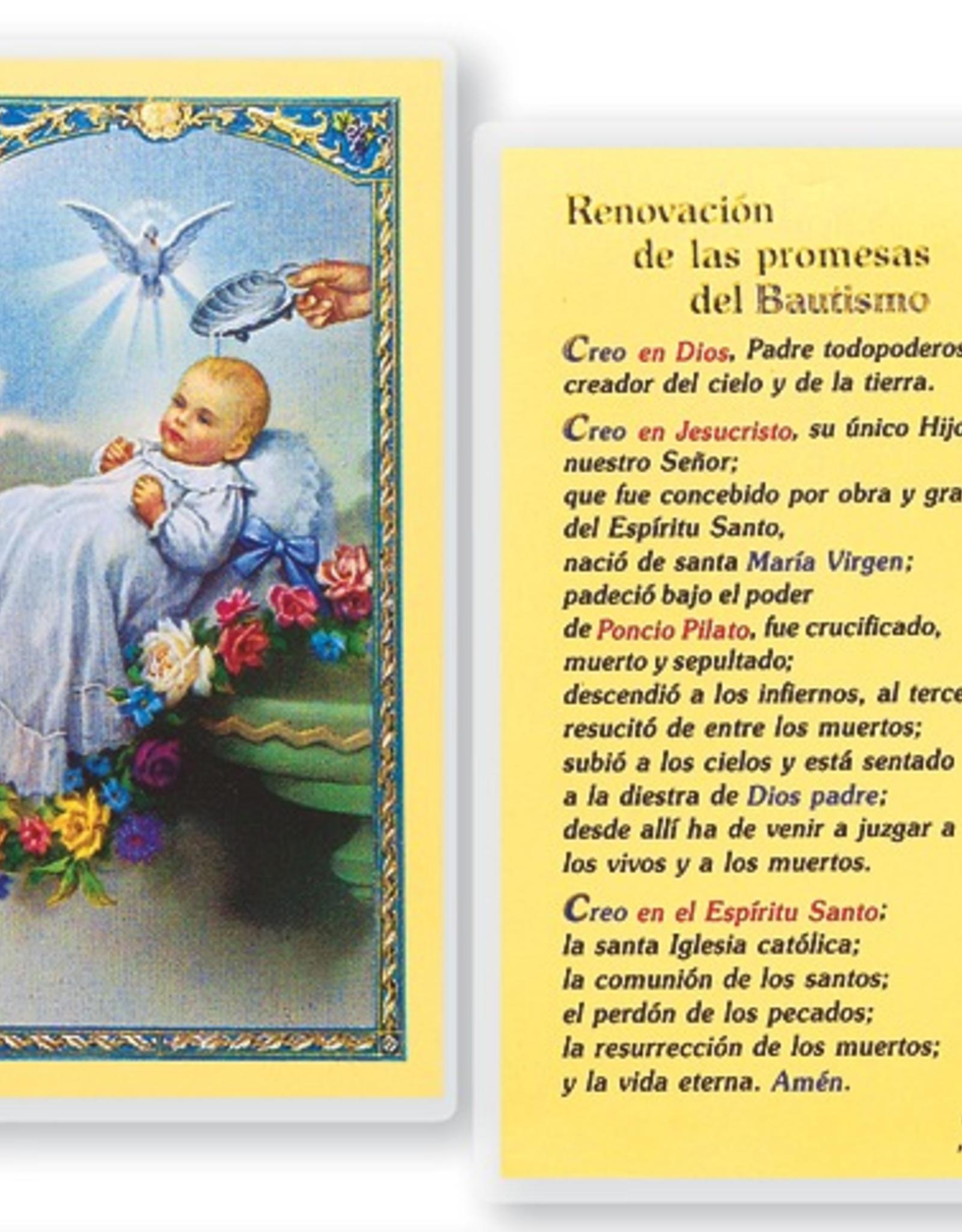 WJ Hirten Bautismo - Renovacion de las promesas del Bautismo