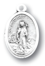 WJ Hirten St. Bridget Medal