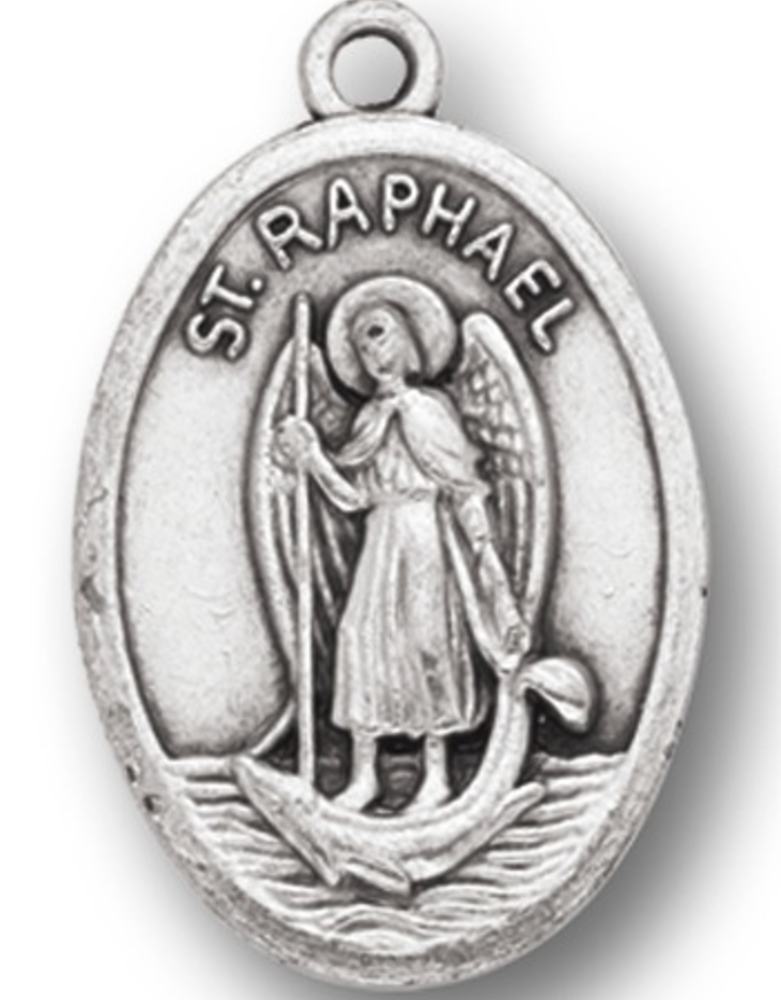 WJ Hirten St. Raphael the Archangel Medal
