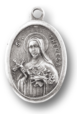 WJ Hirten St. Therese of Lisieux Medal