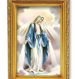 "WJ Hirten Our Lady of Grace 4.5x6.5"""
