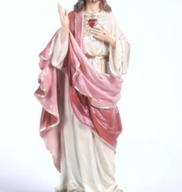 """Santa Teresita 11"""""""" Sacred Heart Statue"""
