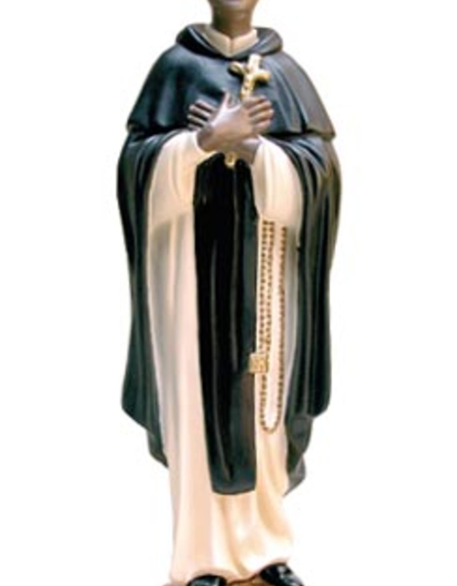 "Santa Teresita 16"" St. Martin de Porres Statue"