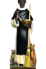 "Santa Teresita 6.4"" St. Martin  de Porres Statue"