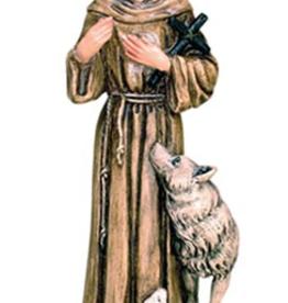 "Santa Teresita 6.8"""" Saint Francis Statue"