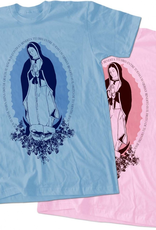 Nelson/Catholic to the Max Spanish Ave Maria T-Shirt (Pink)
