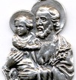 """Illumigifts St. Joseph Medal Father's Day Gift Card (24"""" Stainless Steel Chain Included)"""