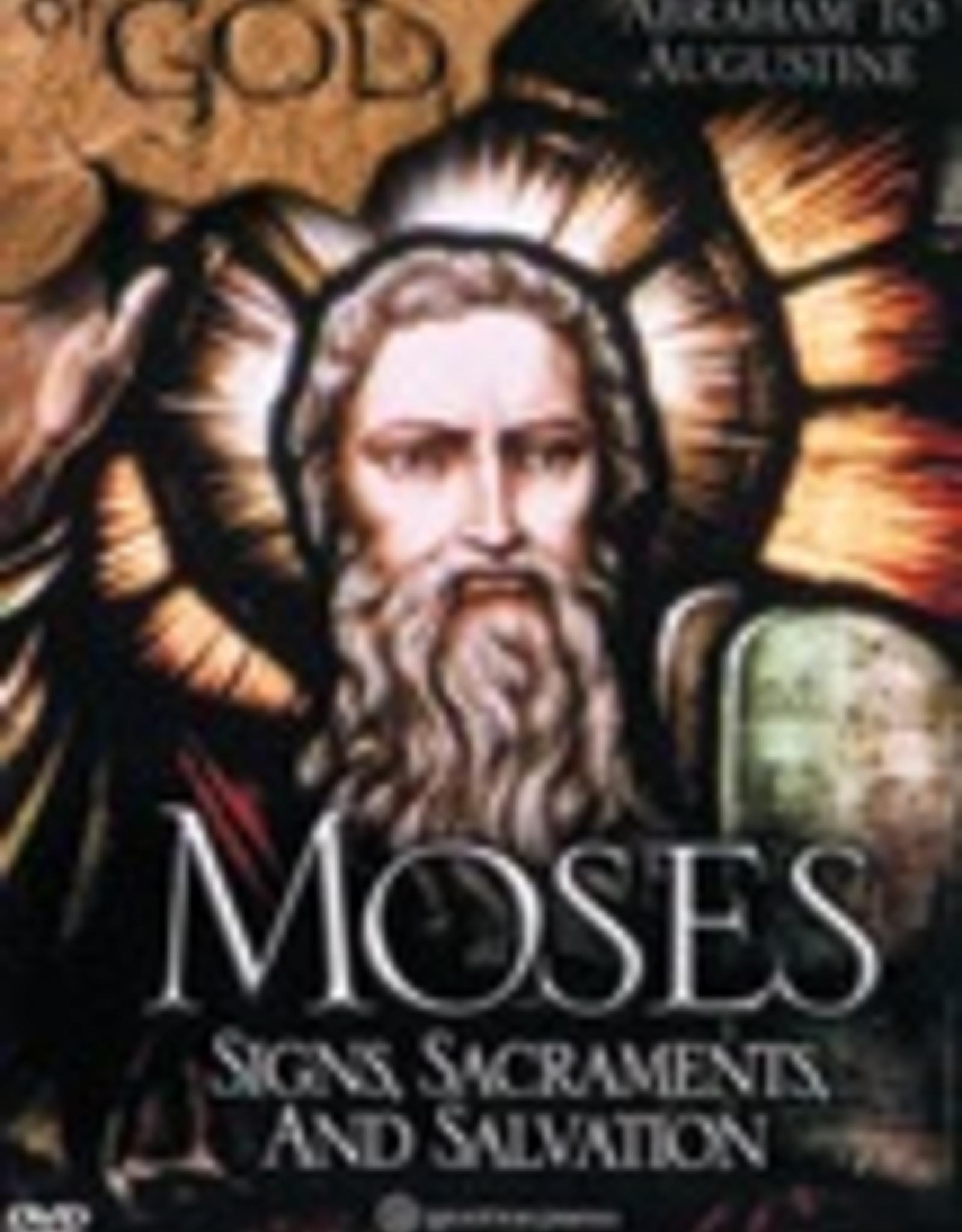 Ignatius Press Footprints of God:  Moses, Signs, Sacraments, Salvation (DVD)