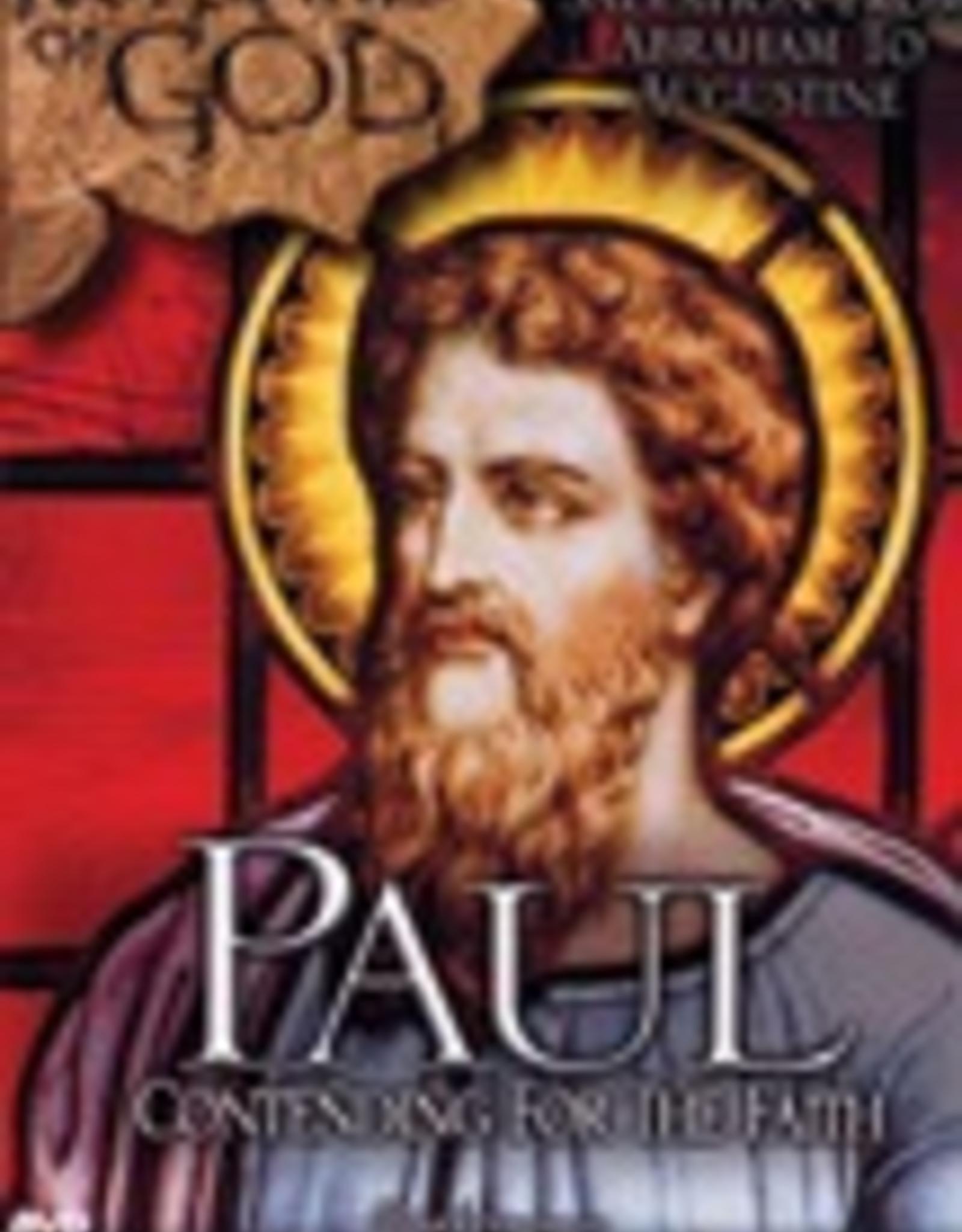 Ignatius Press Footprints of God:  Paul, Contending for the Faith (DVD)
