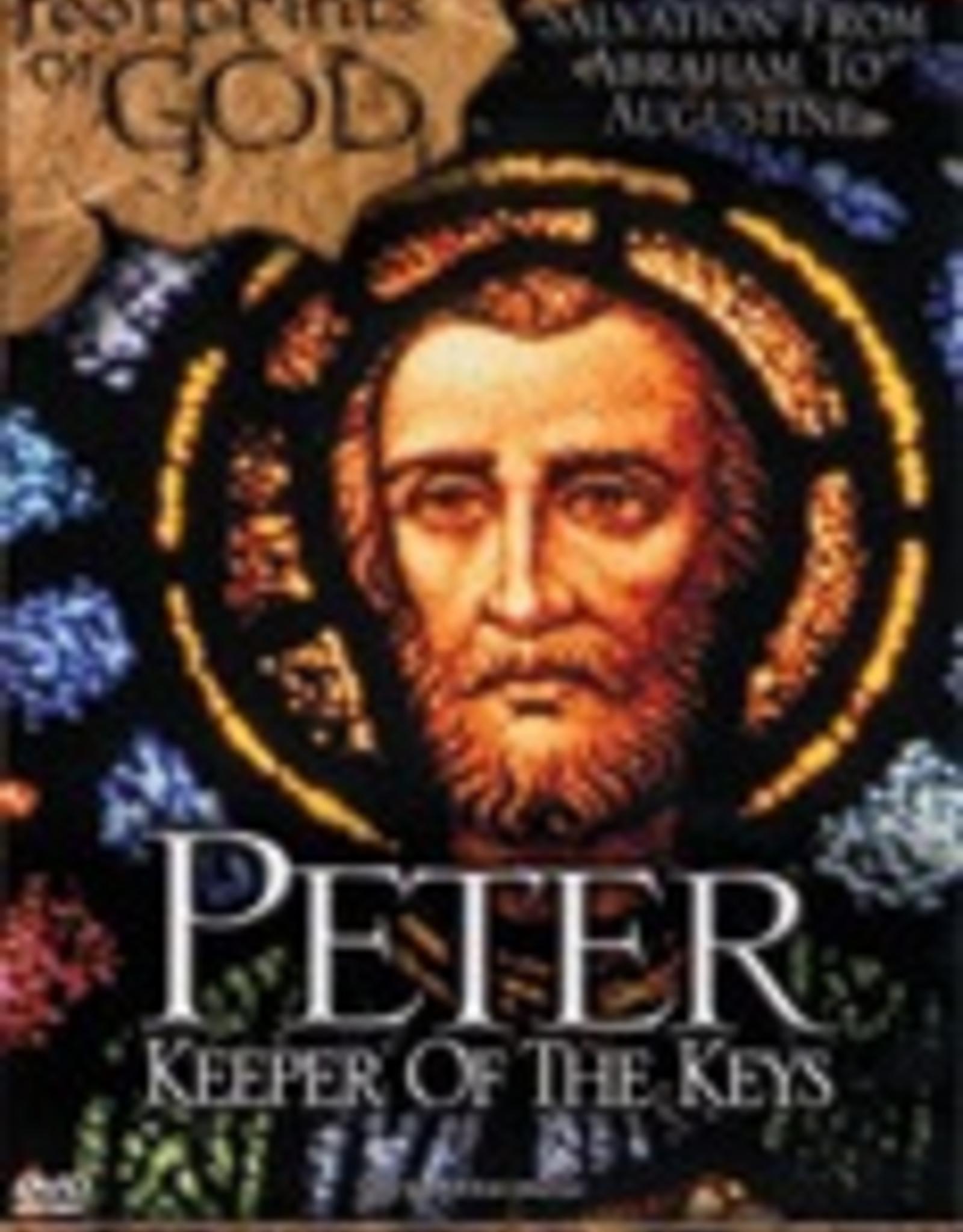 Ignatius Press Footprints of God:  Peter, Keeper of the Keys (DVD)