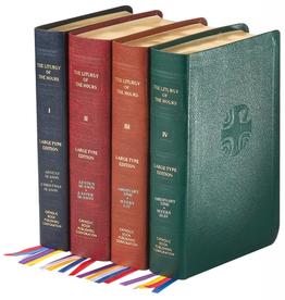 Catholic Book Publishing Liturgy of the Hours (Set of 4) Large Print