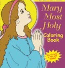 Ignatius Press Mary Most Holy Coloring Book