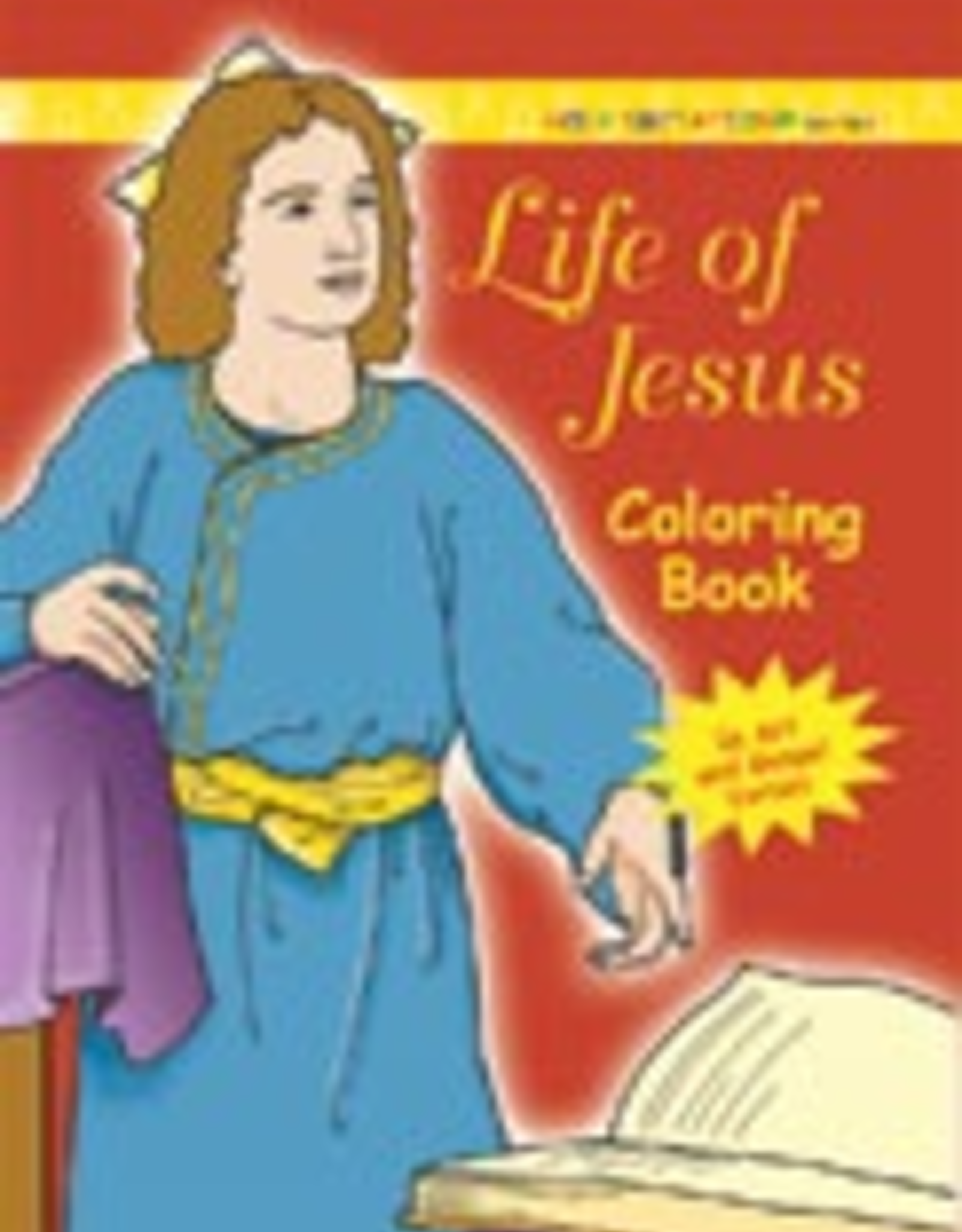 Ignatius Press Life of Jesus Coloring Book