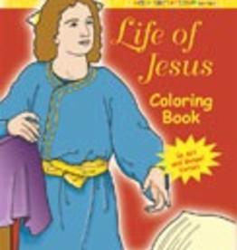 Ignatius Press Life of Jesus Coloring Book