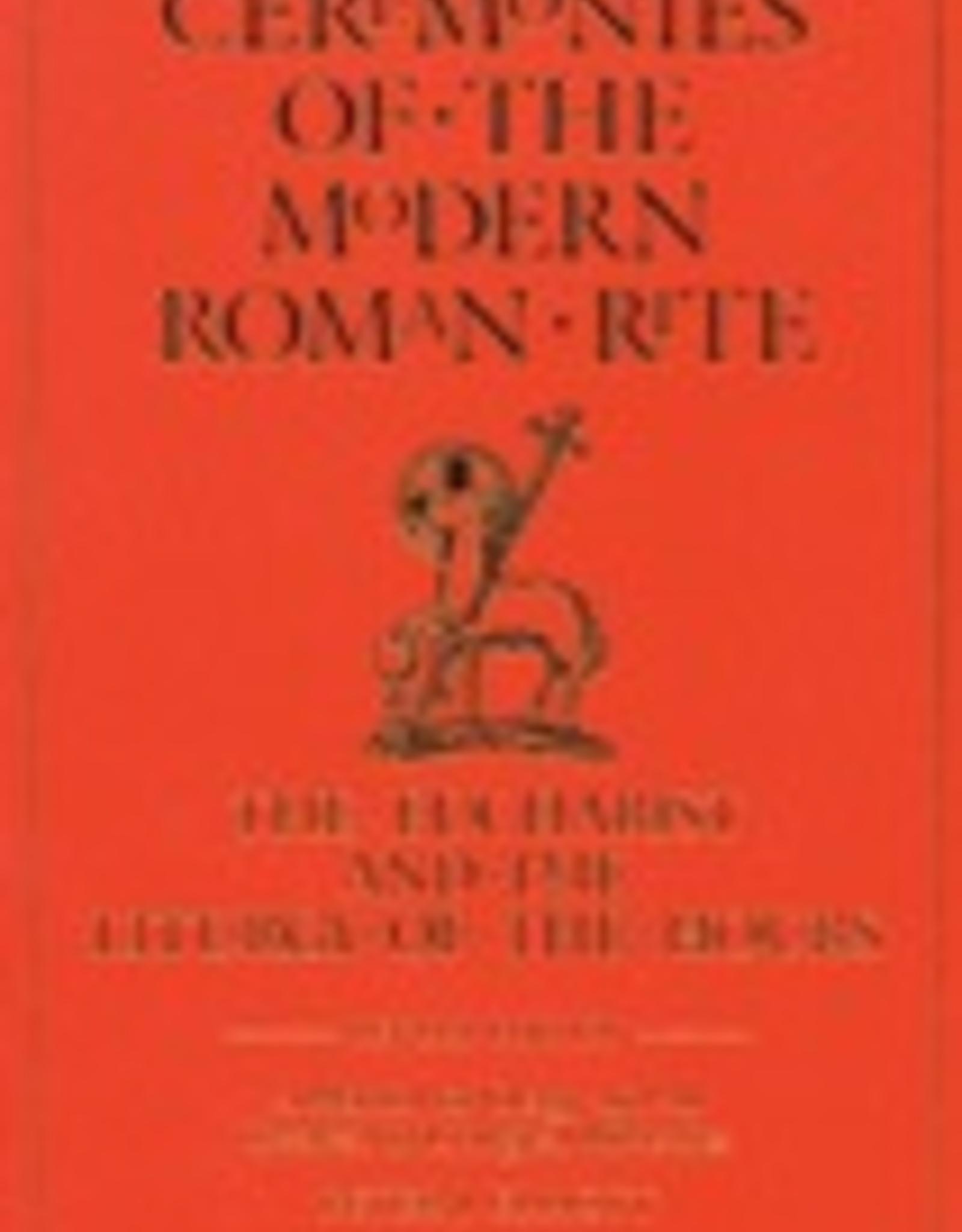 Ignatius Press Ceremonies of the Modern Roman Rite, 2nd Edition, by Bishop Peter J. Elliott (paperback)