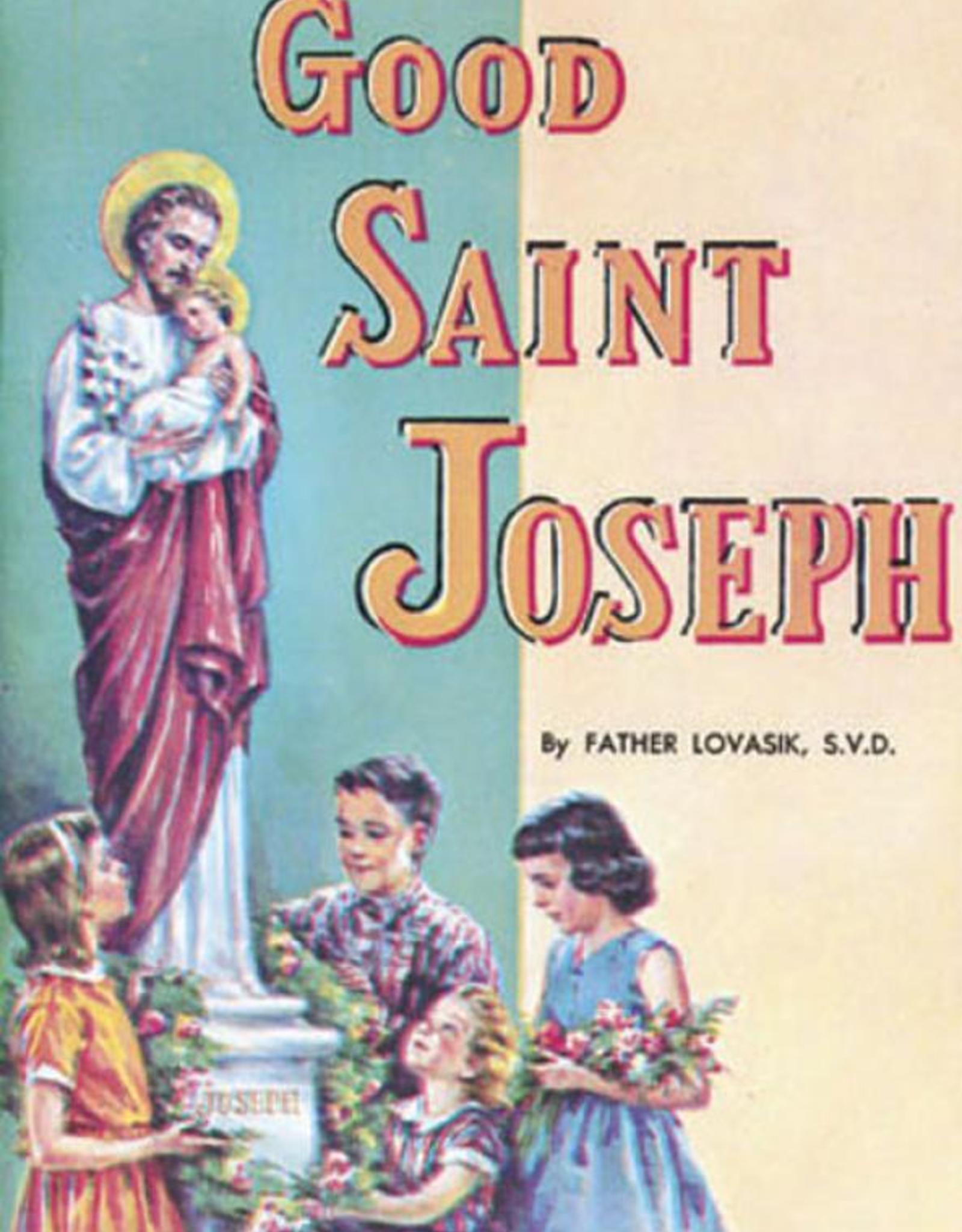 Catholic Book Publishing Good Saint Joseph, by Lawrence Lovasik (paperback)