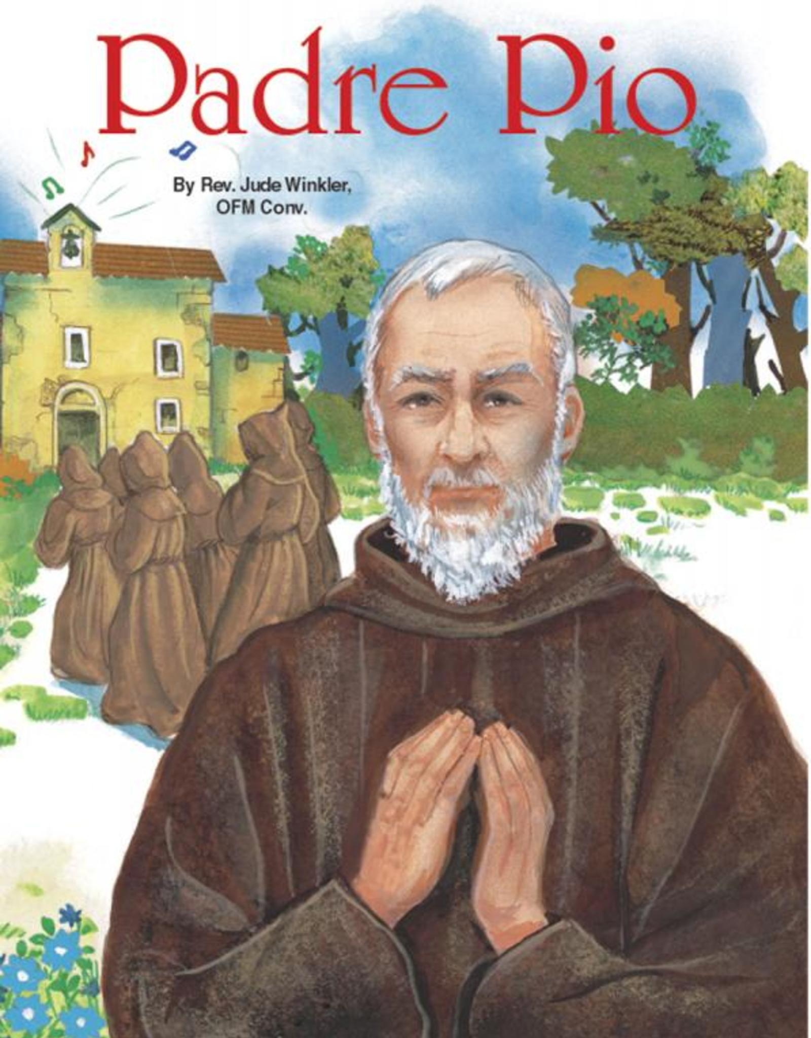 Catholic Book Publishing Padre Pio, by Jude Winkler (paperback)