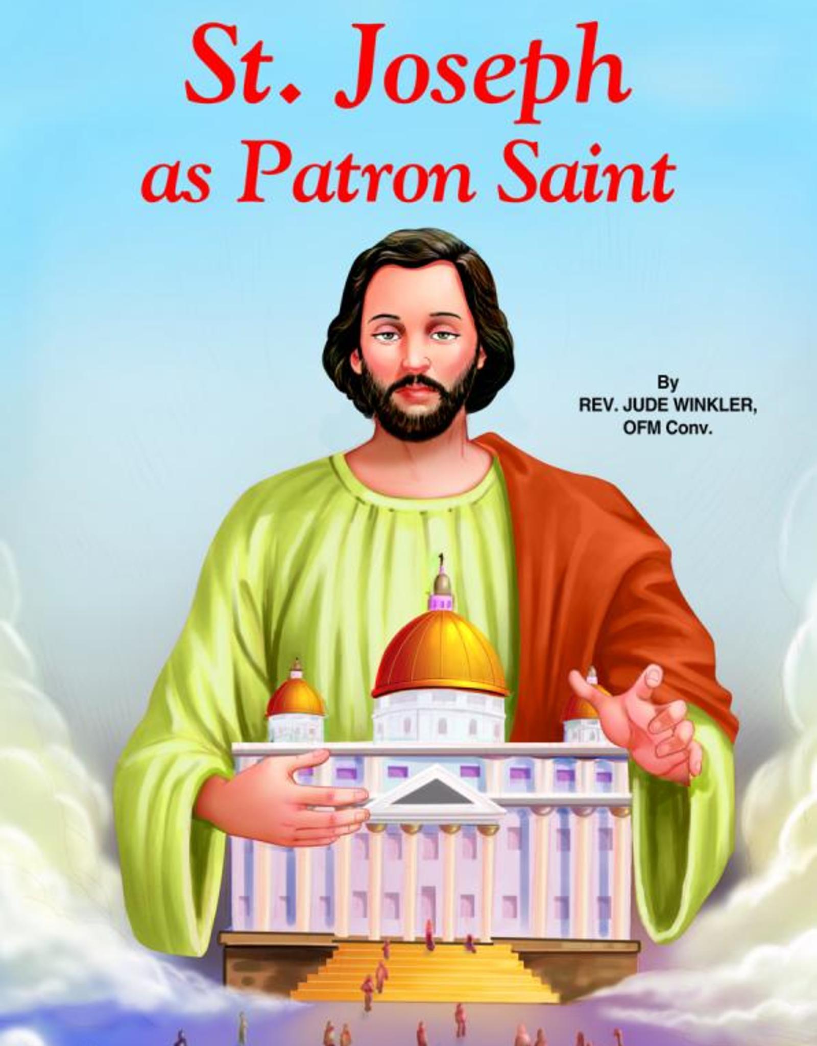 Catholic Book Publishing Saint Joseph As Patron Saint, by Jude Winkler (paperback)