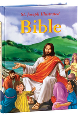 Catholic Book Publishing St. Joseph Illustrated Bible:  Classic Bible Stories for Children, by Jude Winkler (padded)