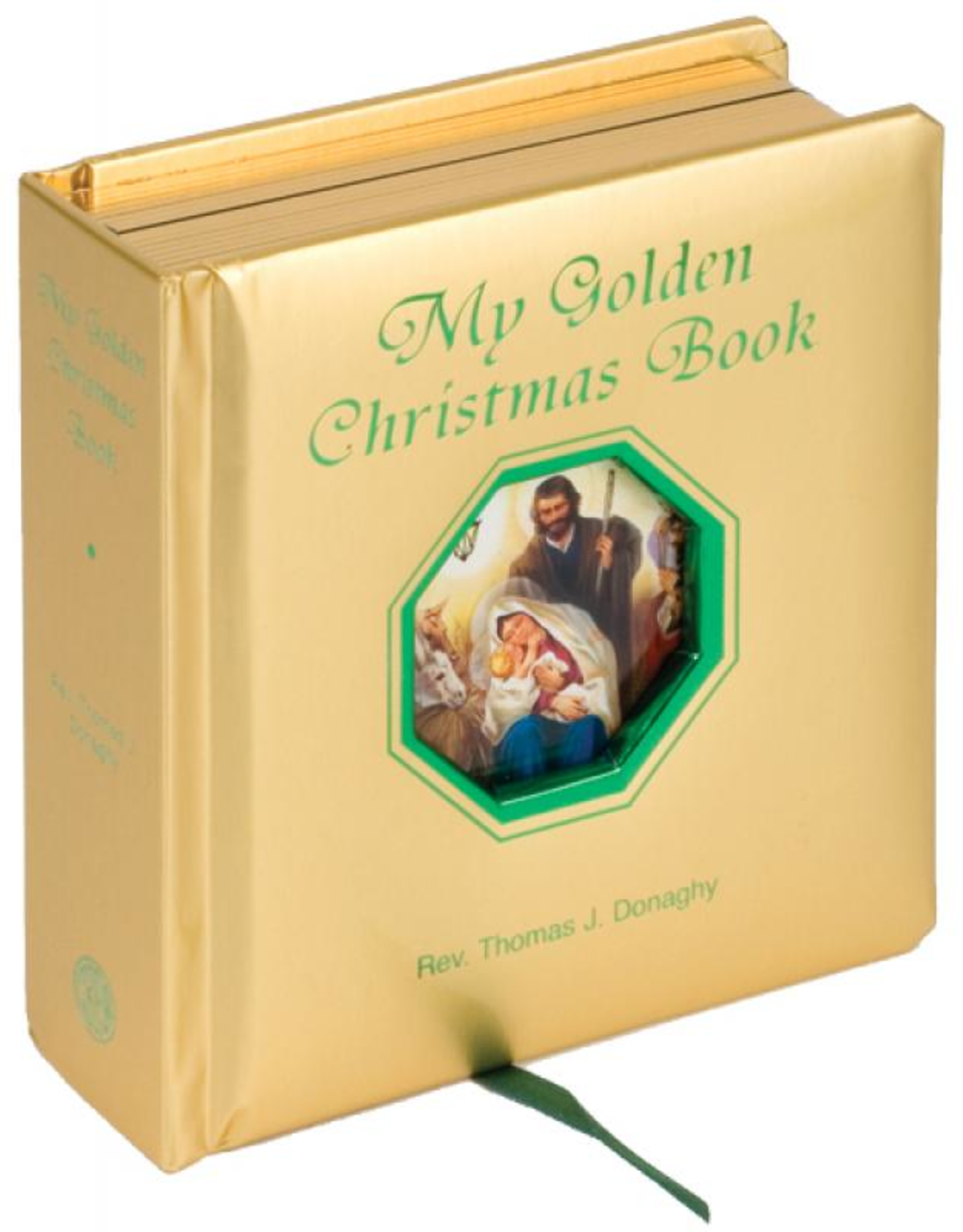 Catholic Book Publishing My Golden Christmas Book, by Thomas Donaghy (padded)