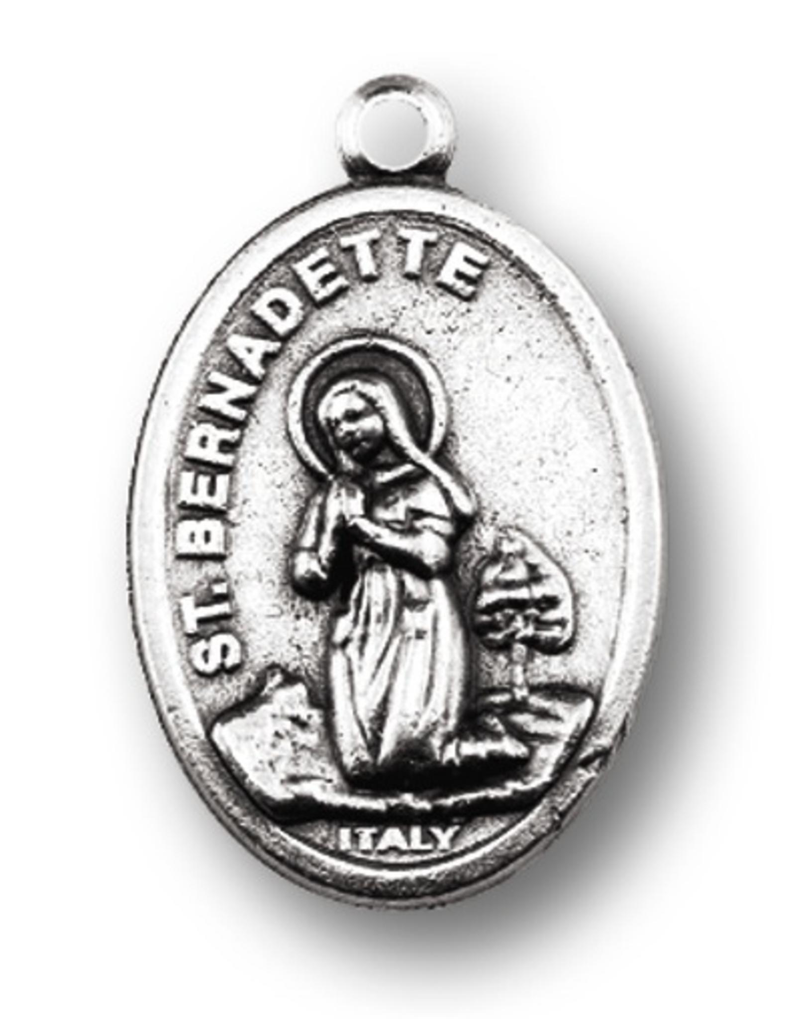 WJ Hirten Our Lady of Lourdes / St. Bernadette Medal