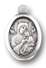 WJ Hirten Our Lady of Perpetual Help Medal