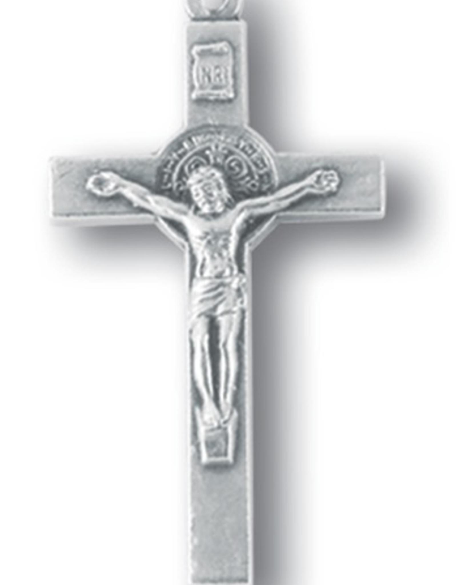 """WJ Hirten St. Benedict 1.5"""" Crucifixes (5/pk)"""