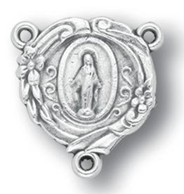 WJ Hirten Fancy Miraculous Medal Centerpiece