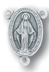 WJ Hirten Oval Miraculous Medal Centerpiece