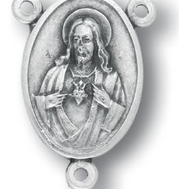 WJ Hirten Large Oval Sacred Heart Centerpiece