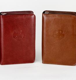 Catholic Book Publishing 4 Volume Set Loh Leather Zipper Case for the 4-volume Liturgy of the Hours