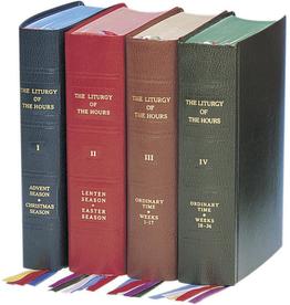 Catholic Book Publishing Liturgy of the Hours (Set of 4) /Divine Office